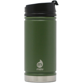MIZU V5 Insulated Bottle 450ml with Coffee Lid, army green